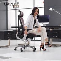 Ergonomic Leather Executive Chair , Office Chair For Better Posture Manufactures