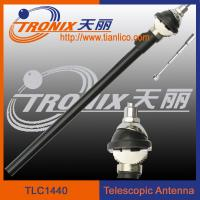 am fm radio car antenna/ 4 sections white mast car telescopic antenna TLC1440 Manufactures