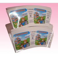 custom adhesive stickers supplier with glossy Lamination Finish manufacturer