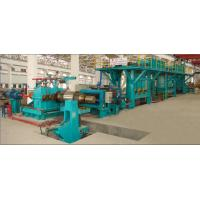 High Efficiency Electrolytic Cleaning Line For Removing Oil / Scrap Iron