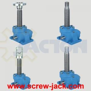 China mechanical screw drive, 3 ton machine screw jacks, mechanical lifter screw jack on sale