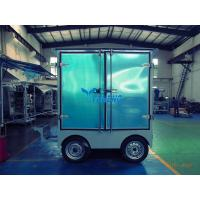 Double Stage Transformer Oil Filtration Machine with Door and Trailer