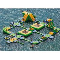 Buy cheap New Design Giant Beach Inflatable Water Parks Lake Floating Water Games from wholesalers