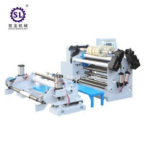 Central Rewind Type Paper Slitter Rewinder  for Aluminum Foil Material Manufactures