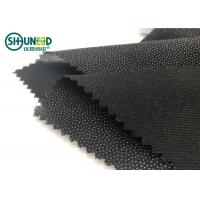 Eco-friendly Double Dot Twill woven fusible interlinings for business casual suit  Fusing Interlining Manufactures