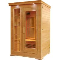 2people  canadian hemlock far infrared sauna room with carbon heater Manufactures