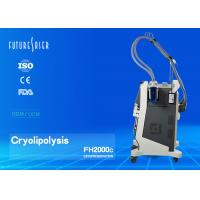 Fat Freezing Cryolipolysis Slimming Machine With 10 Inch Touch Lcd Screen Manufactures