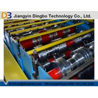 Punching Metal Cr12 Floor Deck Roll Forming Machine With Mitsubishi PLC Manufactures