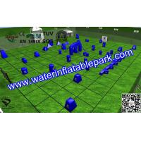 Sport  Inflatable Paintball Bunker Equipmen EN71 / SGS With Three-legged Manufactures