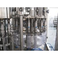 Multifunction 3 In 1 Filling Machine For Mineral / Pure / Non-Carbonated / Distilled Water Manufactures