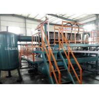 Fully Automatic Egg Tray Machine With Aluminum molds Large Capacity 6000PCS / H Manufactures