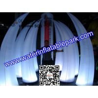 Decorative Inflatable Tusk With Garden Color Changing LED Manufactures