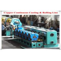Oval Circular Holes Φ250 Cold Rolling Mill , Copper Rod Two Roll Mill Manufactures