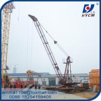 Cheap 6tons Load QD2420 Derrick Luffing Cranes 24m Arm Length 150m Height for sale
