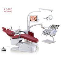 China A6600 Dental Equipment Portable Dental Unit Soft Leather Seat With LED Dental Lamp on sale