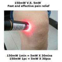 China 650nm 150mW knee Pain relief Laser treatment portable physiotherapy instrument on sale