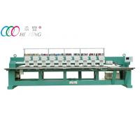 Towel / Garment Industrial Automatic Flat Embroidery Machine 10 Head 9 Needle