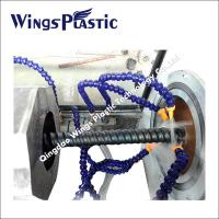 Plastic Cable Protecting Pipe Extrusion Line / PE Carbon Cable Pipe Making Machine Manufactures