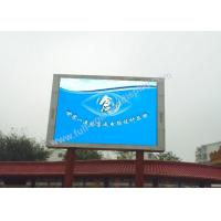 Cheap Die casting rgb led screen , p10 outdoor full color led display with fast locks for sale