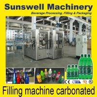 Cheap Horizontal Bottling Carbonated Filling Machine For Glass / PET Bottle for sale