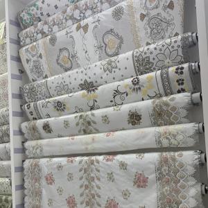 EN71 Printed 137cm Width 20m Length Pvc Lace Tablecloth Manufactures