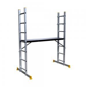Extendable 150kg 6.2ft Aluminium Scaffolding Ladder Manufactures