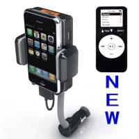 Dc 12v, Vehicle Power Black Fm Transmitter + Car Charger For Iphone 3gs 3g Ipod Touch Manufactures
