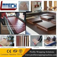 PVC Vacuum membrane press machine for covering veneer for doors making for woodworking wit Manufactures