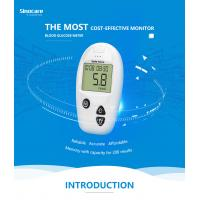 Domestic Diabetes Blood Monitoring Devices No Coding With Accuracy Result Manufactures