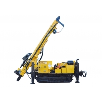 500m Hydraulic Dth Track Mounted Reverse Circulation Drilling Rig Manufactures