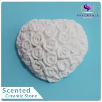 Cheap Car Air Freshener Elegant Plaster Scented Ceramic ODM service for sale