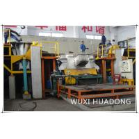Semi Automatic Vertical Continuous Casting Machine 2 Strand For Red Copper Round Billets Manufactures