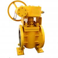 Cheap Plug Valve On/Off sevice by Non Lubricated As ACC/ASME B16.34 Class 600 Lbs for sale