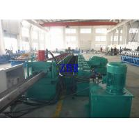 15Kw Guardrail Roll Forming Machine 20Mpa 2 Inch Single Row Chain Drive Manufactures