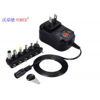 RoHS Approval Multiple Output Power Supply , 6 DC Jack Multi Voltage DC Adapter Manufactures