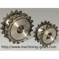 Vehicle Parts Precision 316 SS Double Chain Sprocket With Heat Treatment Manufactures