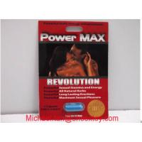 Cheap Power Max Herbal Male Performance Enhancers / Male Energy Enhancement Capsule For Men for sale
