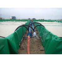 China B1 Fire Resistance Heavy Duty Vinyl Tarp For Petroleum Pipeline  Cover on sale