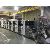 Buy cheap RY480 6C UV Drying Flexo Printing Machine with die cutting station video monitor from wholesalers
