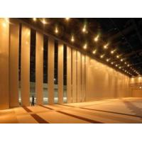 Decorative Sliding Operable Wooden Partition Wall Sound Proofing MDF Board Manufactures