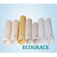 PPS felt filter PPS / Ryton filter bags power plant filter , dust collector bags Manufactures