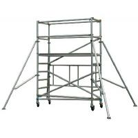 Cheap Safe Durable Waterproof Aluminum Mobile Scaffolding Tower System / Aluminium Tower Scaffold for sale