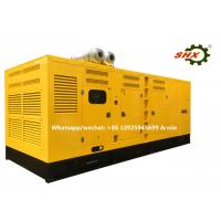 Electric  Cummins Container Type Generator For Construction , Heavy Duty Power Generator Manufactures