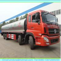 China Dongfeng 30000 litres stainless steel truck milk tank on sale