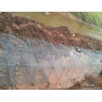 Heavy Galvanized Stone Cage Wire Mesh 2 * 1 * 1 M Size For Dipo Protection Manufactures