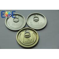 China 300#73mm aluminum easy open end for dry food on sale