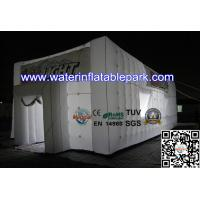 Bespoke Led Inflatable Cube Tent / Inflatable Party Event Tent 8 x 4 m Manufactures