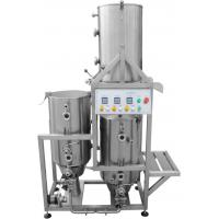 AISI 316 Home Microbrewery Equipment , Three Tanks Gas Heated 50HL / 50L Brewhouse Manufactures
