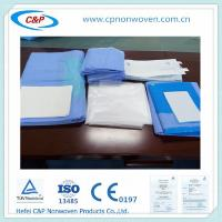 China Disposable Fenestrated surgical drape pack of Basic cover Extremity Drape pack Laparoscopy on sale