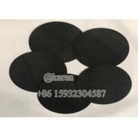 Recycle plastic pellets and granulars Extruder Screen Filter Mild Steel Woven Mesh Filter Disc,Rectangle Shape Manufactures